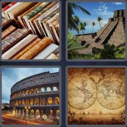 4-pics-1-word-7-letters-ancient