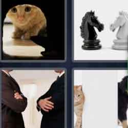4 Pics 1 Word 7 Letters Enemies