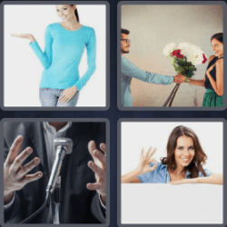 4-pics-1-word-7-letters-gesture