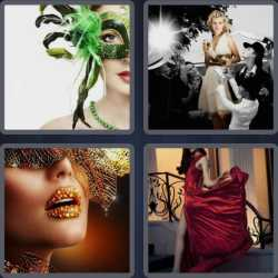4-pics-1-word-7-letters-glamour