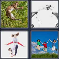 4-pics-1-word-7-letters-leaping