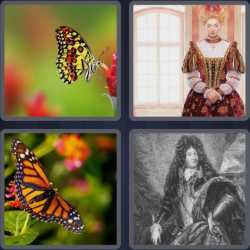 4-pics-1-word-7-letters-monarch