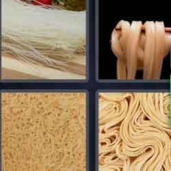 4 Pics 1 Word 7 Letters Noodles