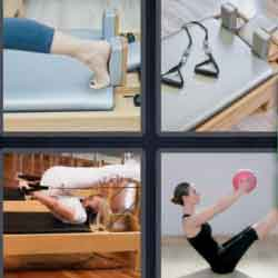 4 Pics 1 Word 7 Letters Pilates
