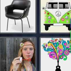 4 Pics 1 Word 7 Letters Sixties