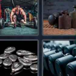 4 Pics 1 Word 7 Letters Weights