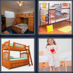 4-pics-1-word-7-letters-bunkbed