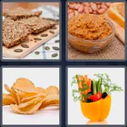 4-pics-1-word-7-letters-crunchy