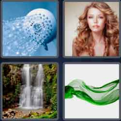 4-pics-1-word-7-letters-flowing