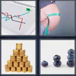 4-pics-1-word-7-letters-gaining