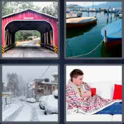 4 Pics 1 Word 7 Letters Level 3644 Covered