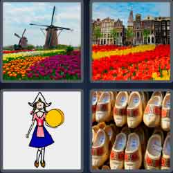 4 Pics 1 Word 7 Letters Level 3711 Holland