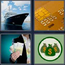 4 pics 1 word 7 letters credit card chip