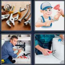 4-pics-1-word-7-letters-plumber