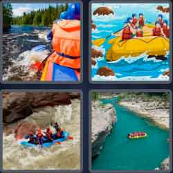 4-pics-1-word-7-letters-rafting