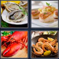 4-pics-1-word-7-letters-seafood