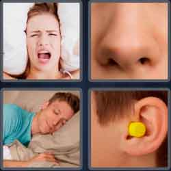 4-pics-1-word-7-letters-snoring