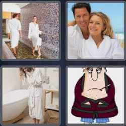4-pics-1-word-8-letters-bathrobe