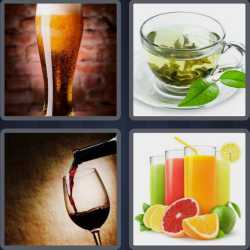 4-pics-1-word-8-letters-beverage