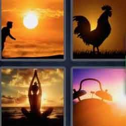 4 pics 1 word 8 letters Daybreak