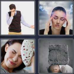 4-pics-1-word-8-letters-headache