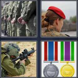 4-pics-1-word-8-letters-military