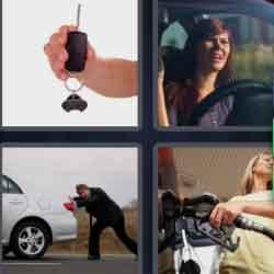 4 pics 1 word 8 letters Motorist