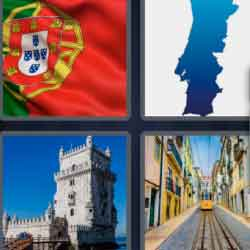 4 pics 1 word 8 letters Portugal