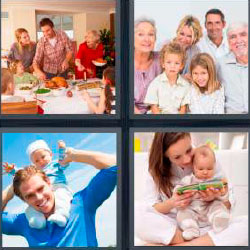 4 pics 1 word 8 letters family