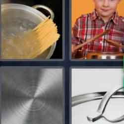 4 pics 1 word 8 letters Saucepan