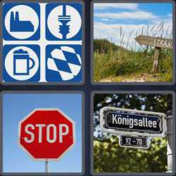 4-pics-1-word-8-letters-signpost