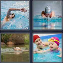 4-pics-1-word-8-letters-swimming