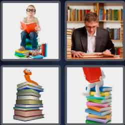4 pics 1 word 8 letters bookworm