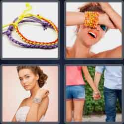 4 pics 1 word 8 letters bracelet