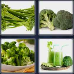 4 pics 1 word 8 letters broccoli