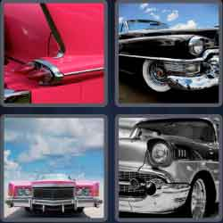 4 pics 1 word 8 letters cadillac