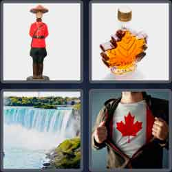 4 pics 1 word 8 letters canadian