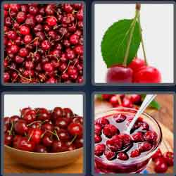 4 pics 1 word 8 letters cherries