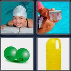 4 pics 1 word 8 letters chlorine
