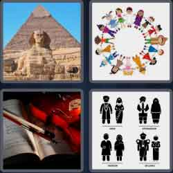 4 pics 1 word 8 letters cultural