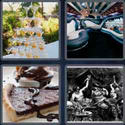 4 pics 1 word 8 letters decadent