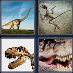 4 pics 1 word 8 letters dinosaur