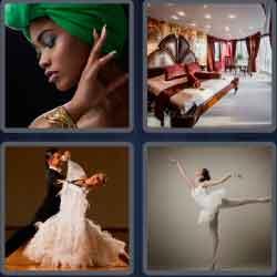 4 pics 1 word 8 letters elegance