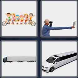 4 pics 1 word 8 letters elongate