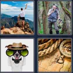 4 pics 1 word 8 letters explorer