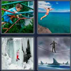 4 pics 1 word 8 letters fearless