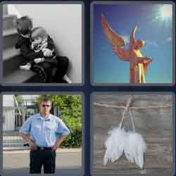4 pics 1 word 8 letters -guardian