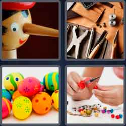 4 pics 1 word 8 letters handmade