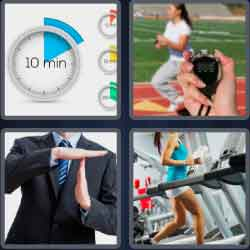 4 pics 1 word 8 letters interval