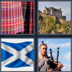 4 pics 1 word 8 letters scotland